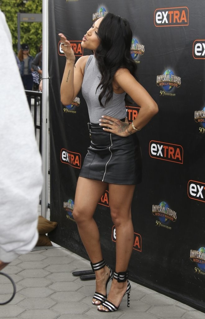 Karrueche Tran interviews For Extra TV