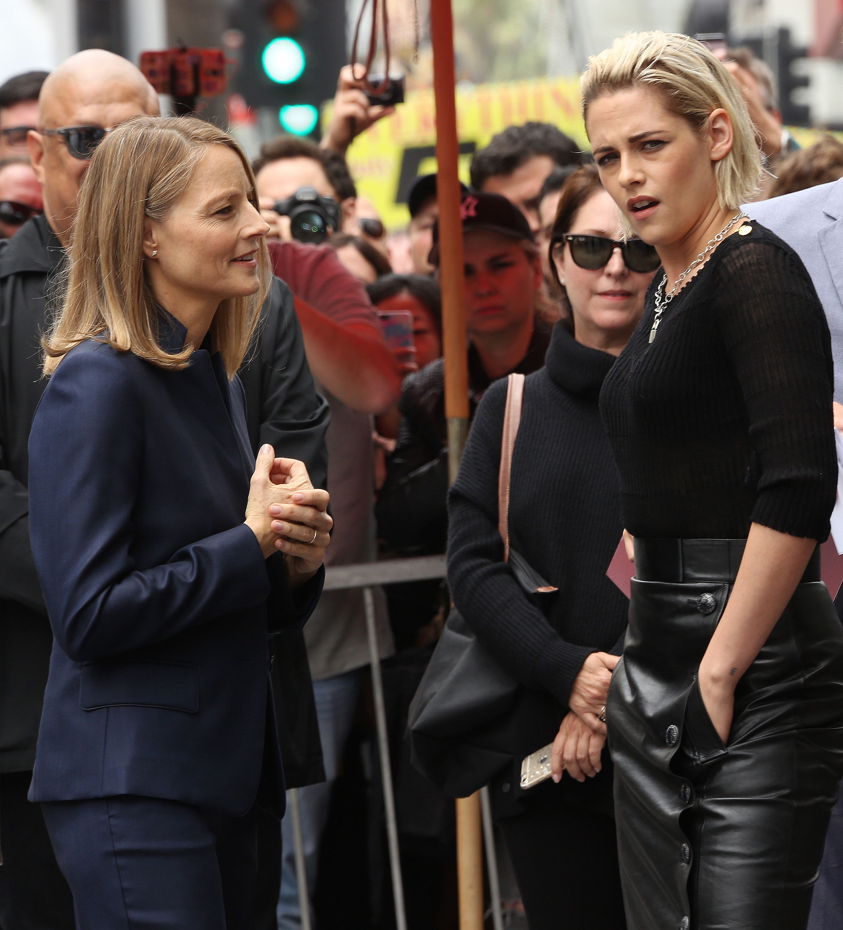"Kristen Stewart attends Jodie Foster's ""Walk Of Fame"" Ceremony"