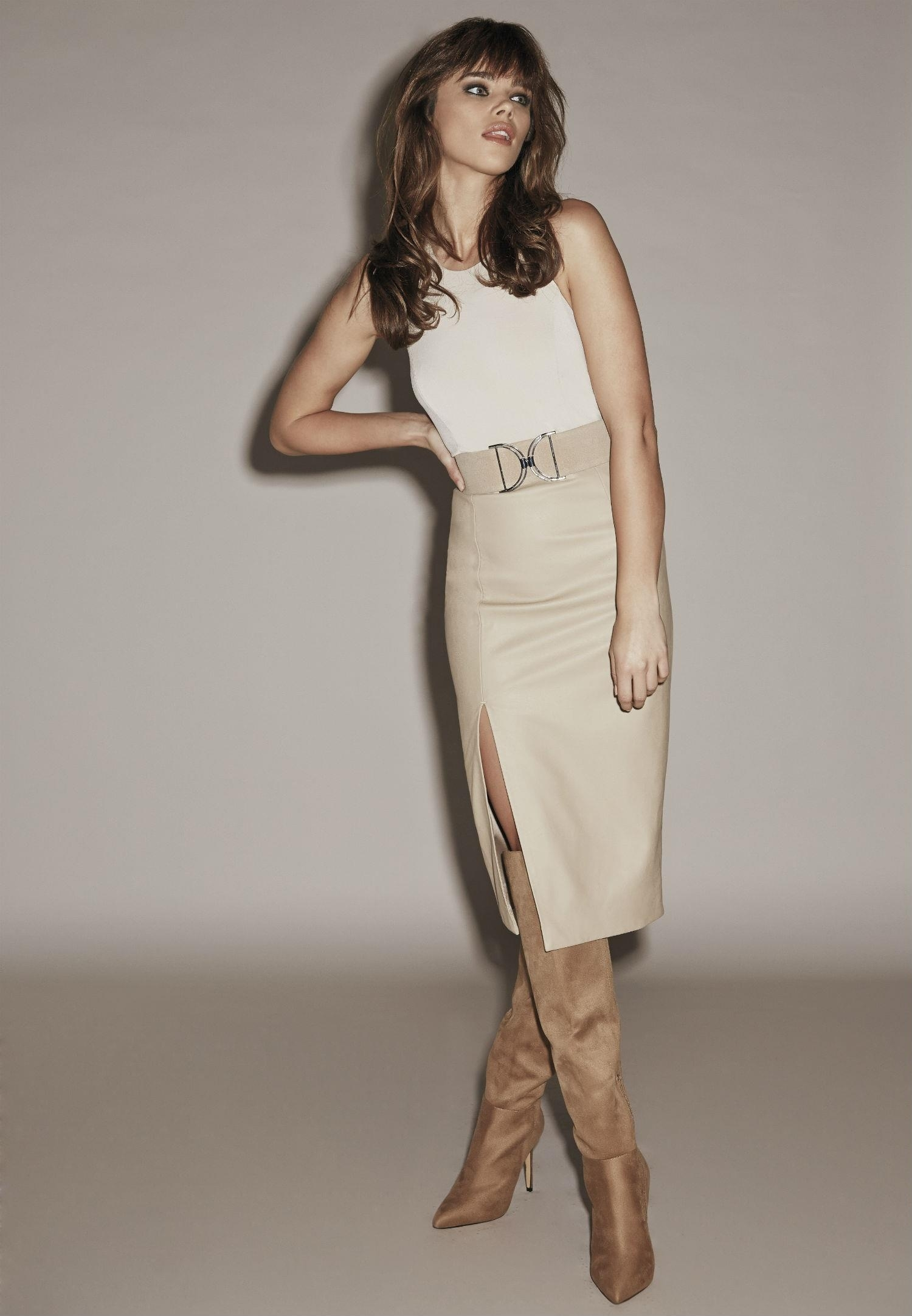 Jena Goldsack photoshoot for Bardot Collection