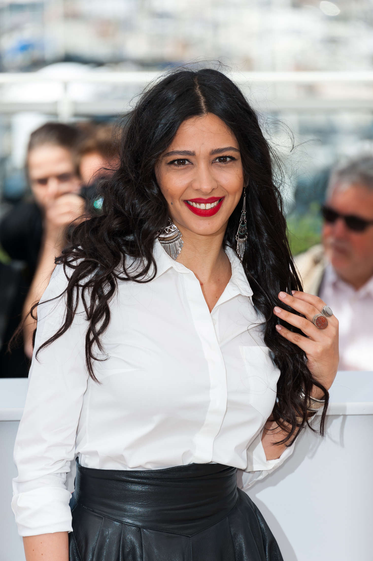 Maisa Abd Elhadi attends Personal Affairs Photocall