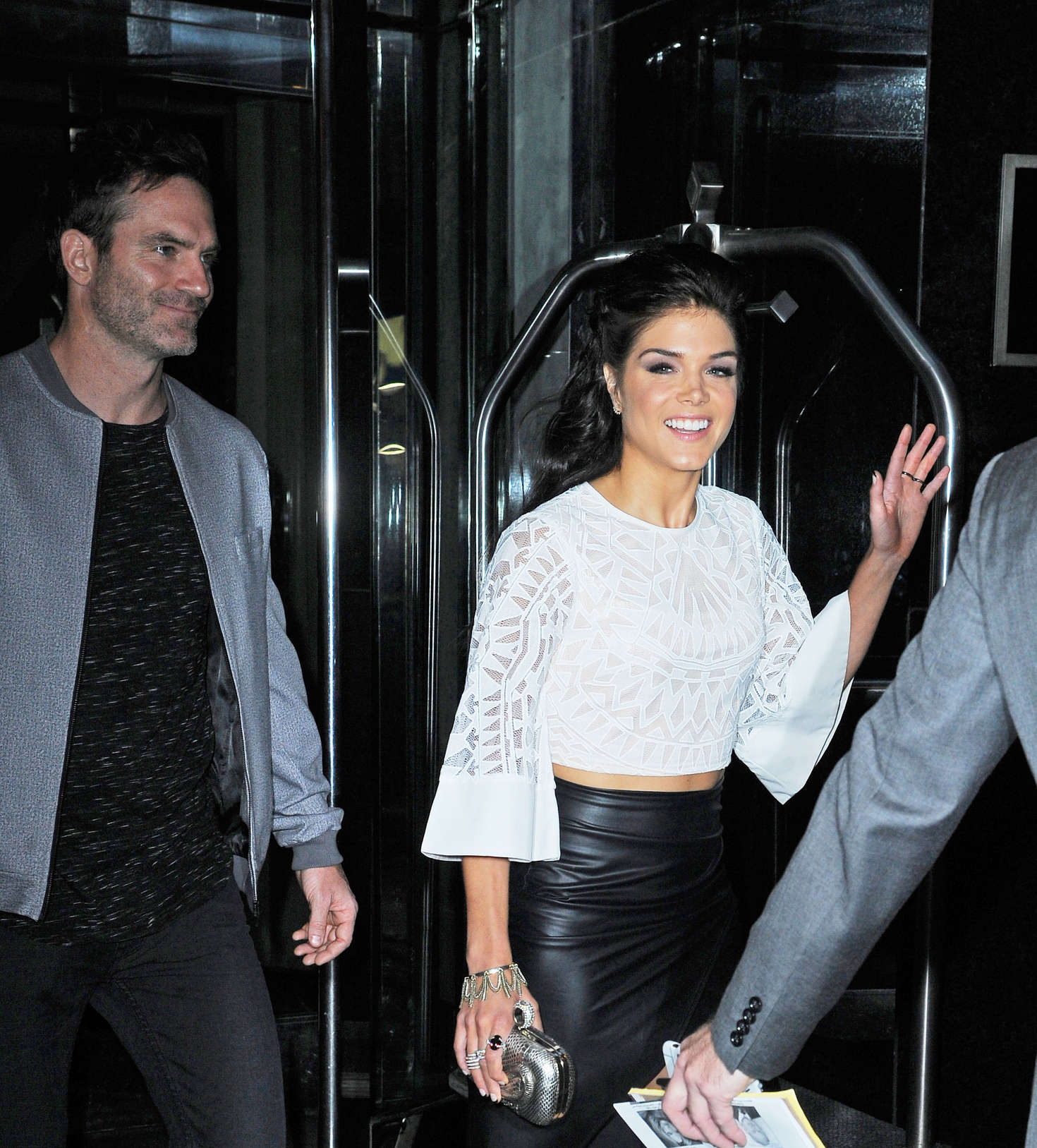 Marie Avgeropoulos out in Manhattan