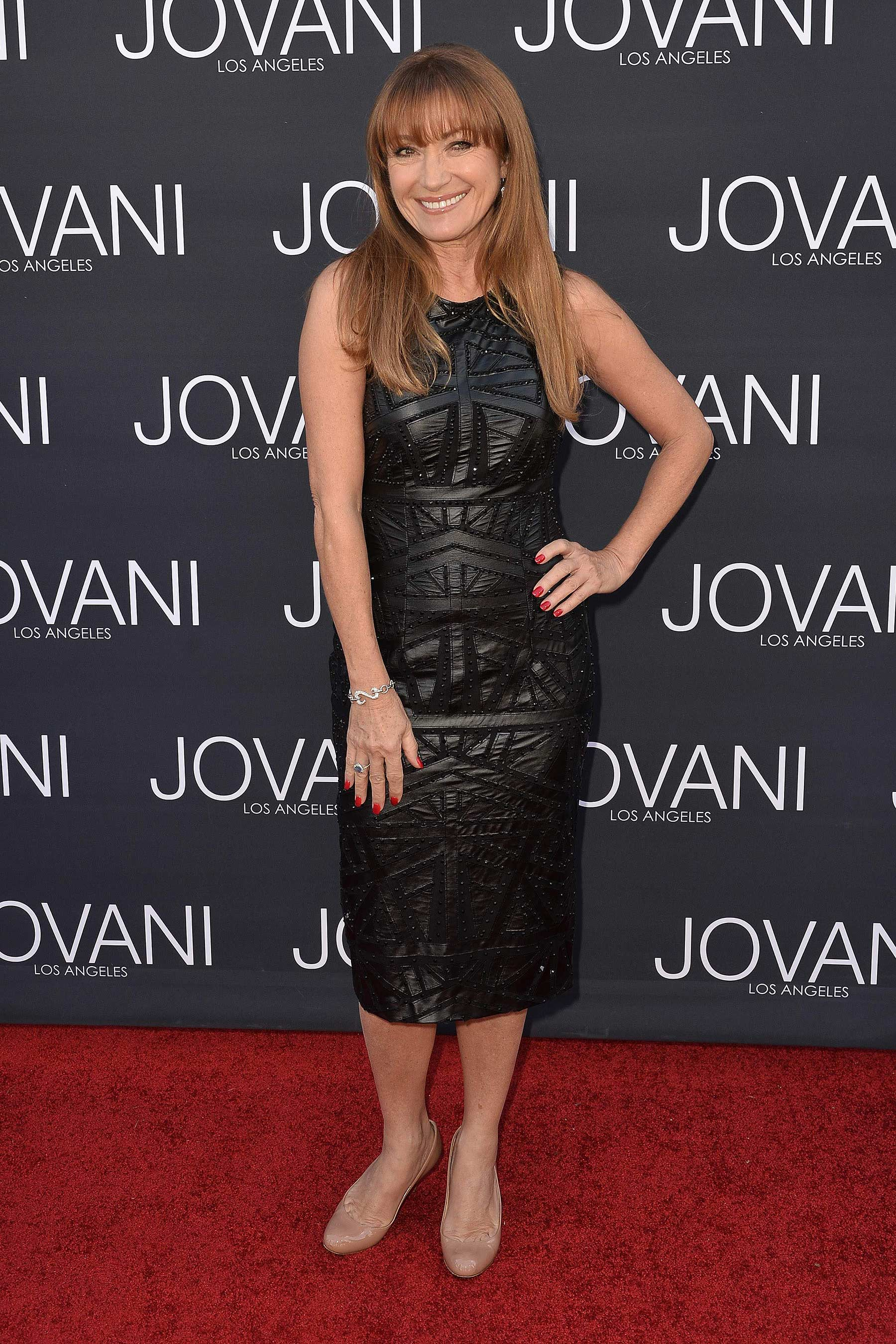 Jane Seymour at the Jovani Los Angeles Store Opening Celebration