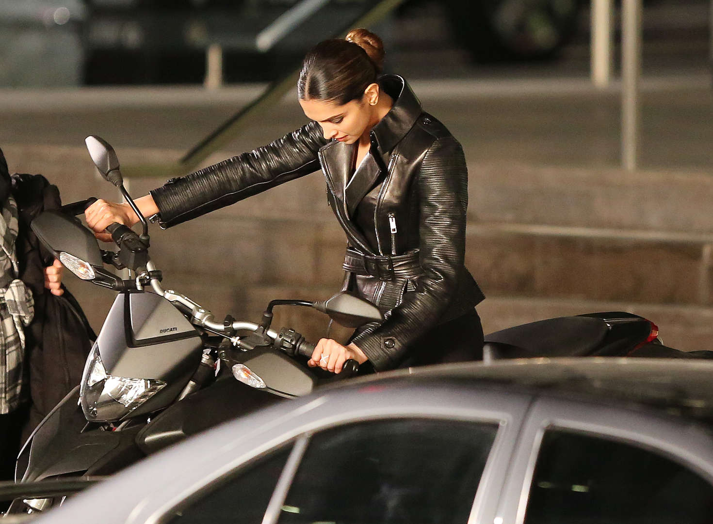 Deepika Padukone on the Set of XXX 3 The Return Of Xander Cage