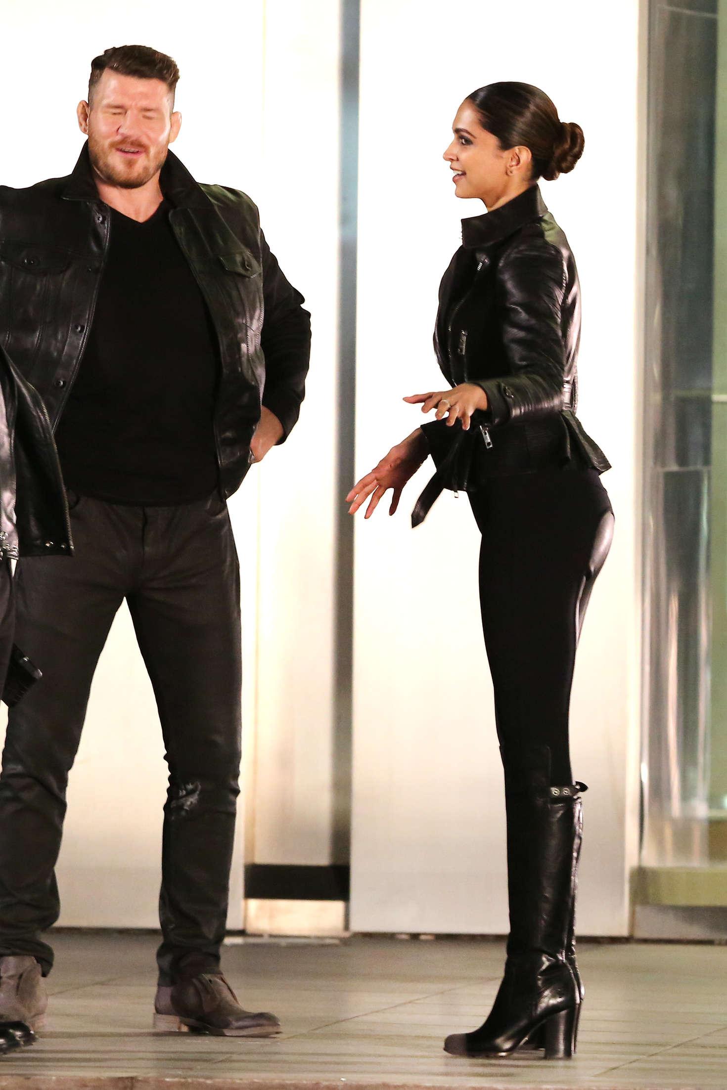 Deepika Padukone on the Set of XXX 3 The Return Of Xander Cage