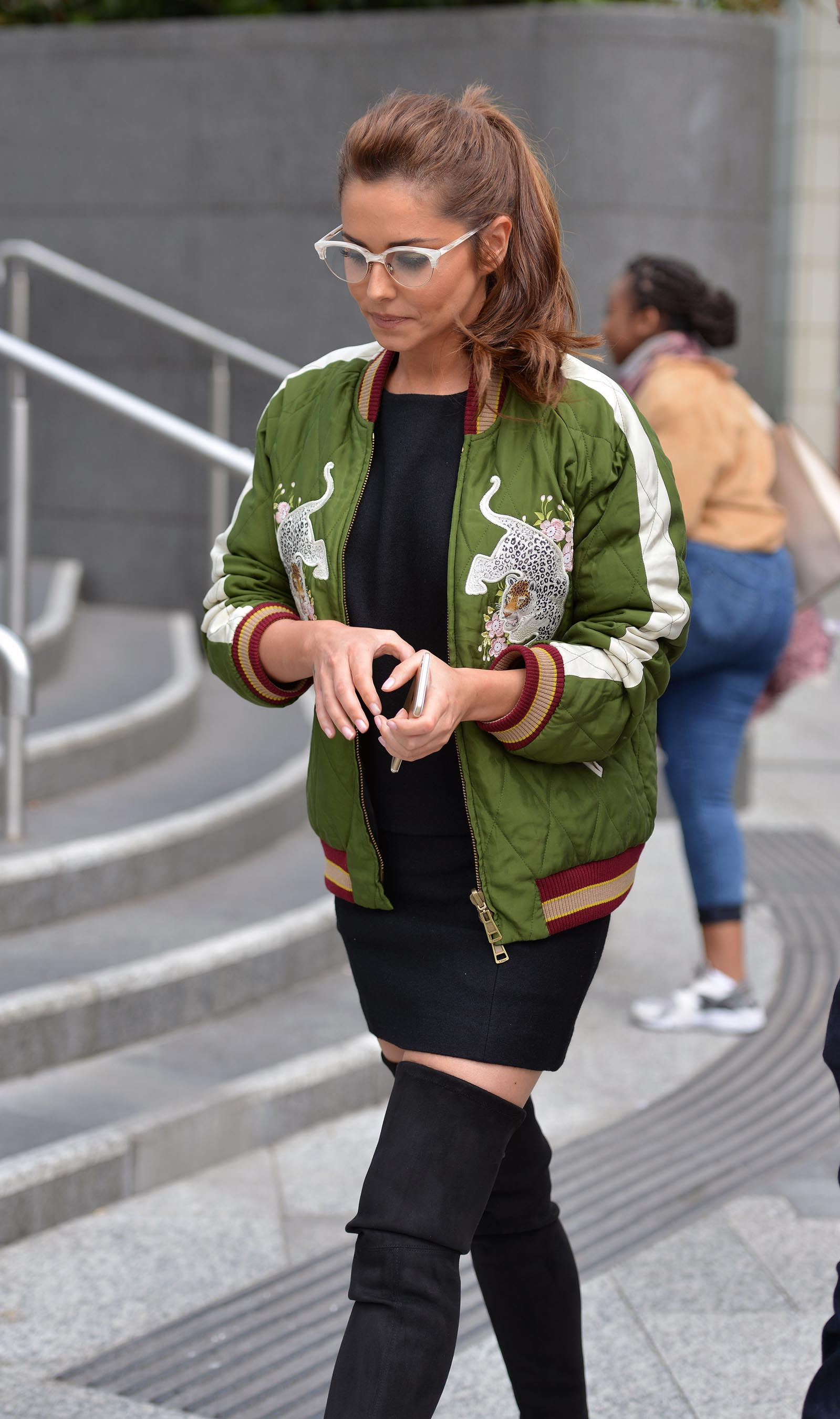 Cheryl Cole out and about in London