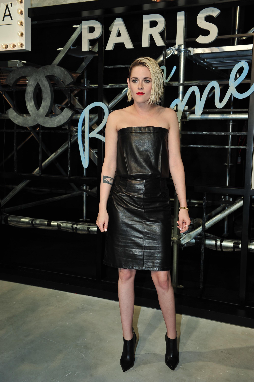 Kristen Stewart attends Chanel Paris in Rome Fashion Show