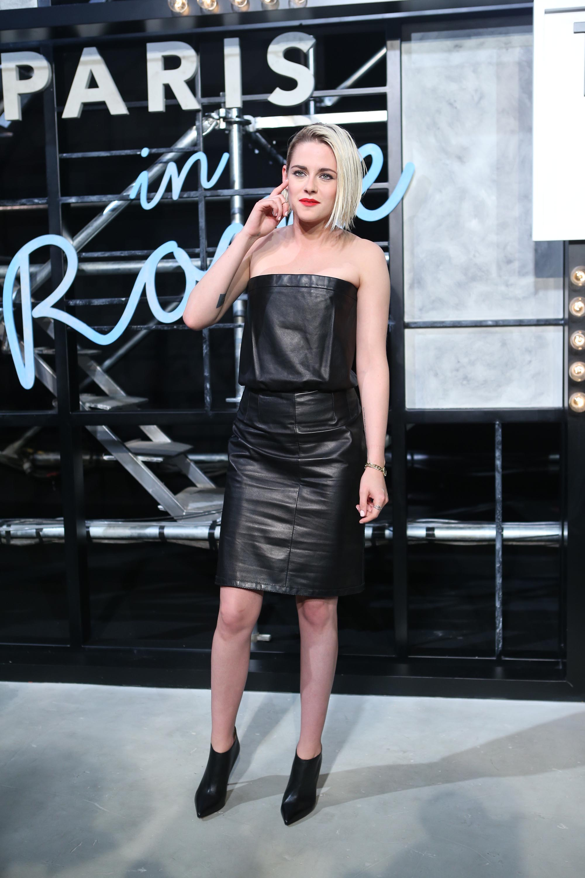 Kristen Stewart attends Chanel Paris in Rome Fashion Show