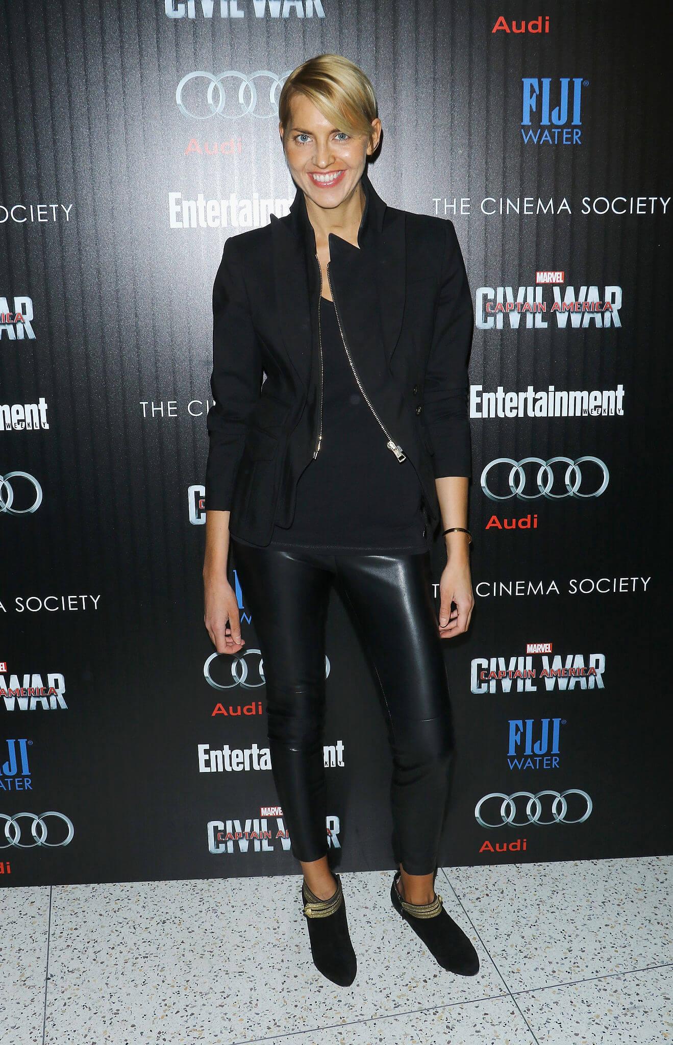Genevieve Bahrenburg attends the screening of Captain America: Civil War
