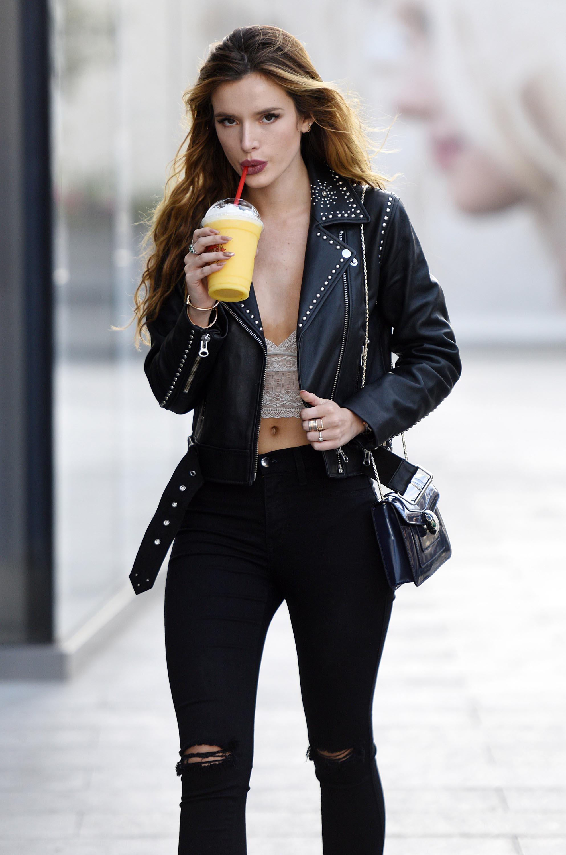 Bella Thorne out and about in LA