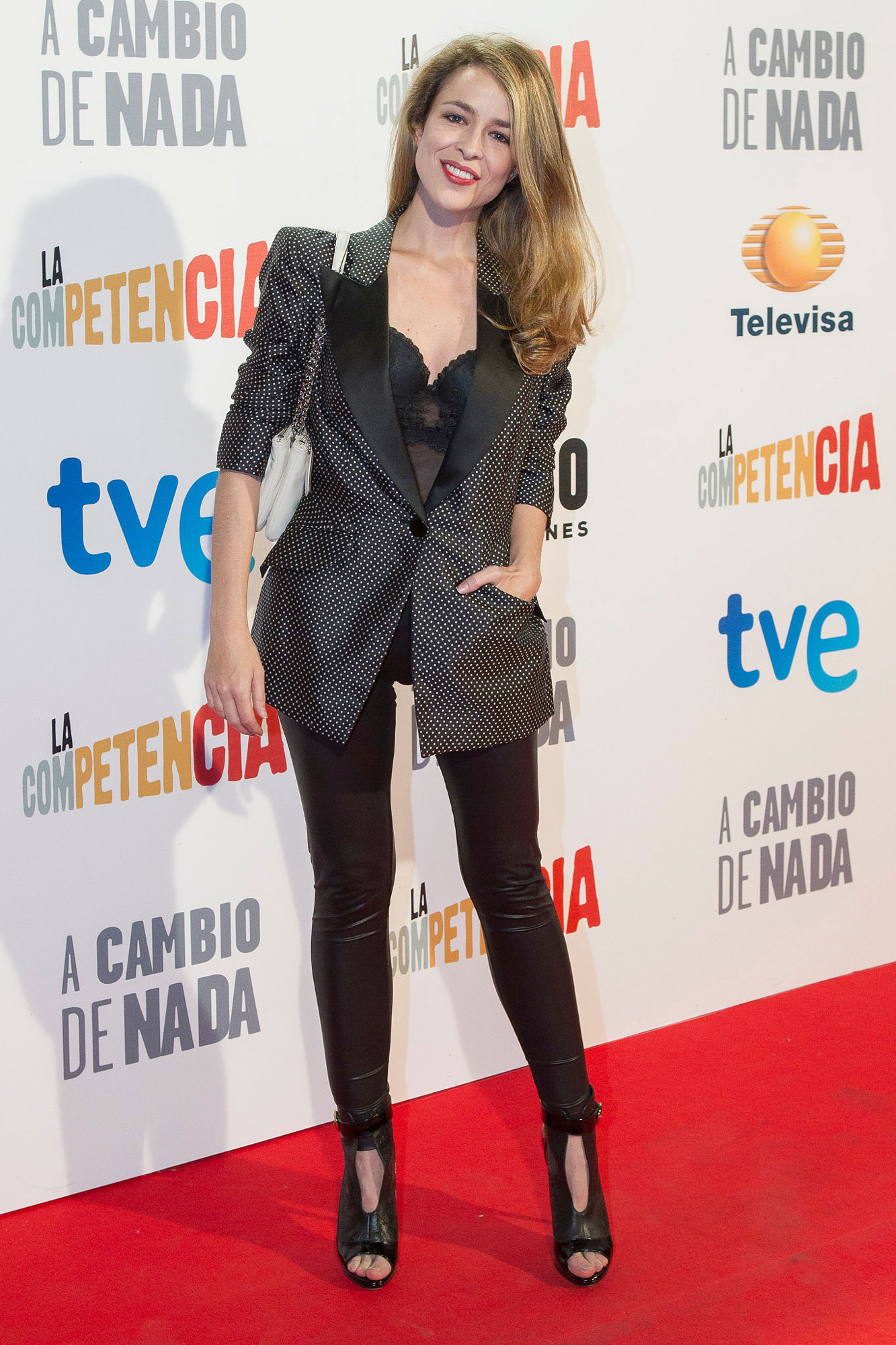 Silvia Abascal attends 'A cambio de nada' premiere