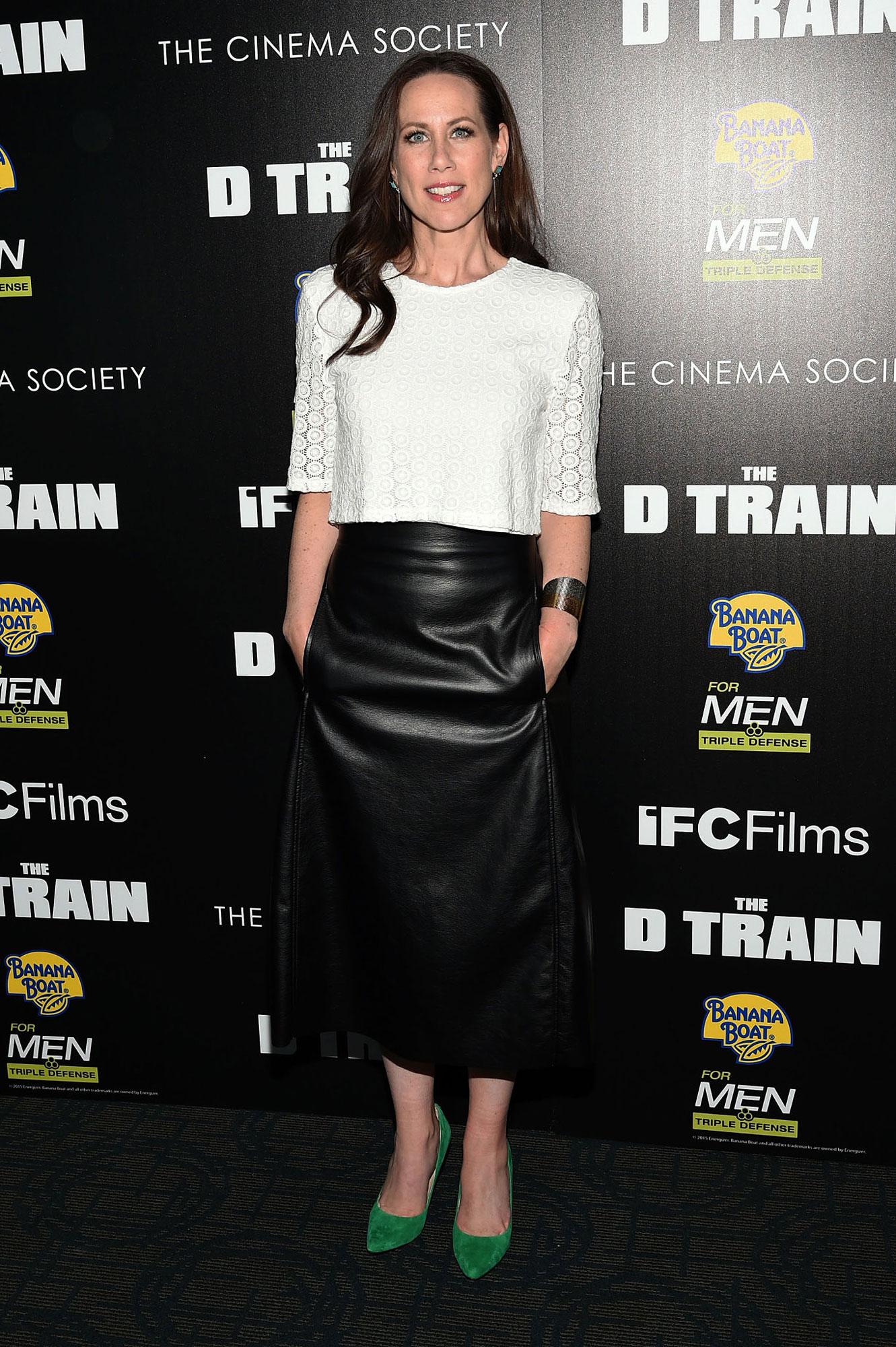 Miriam Shor attends The Cinema Society & Banana Boat