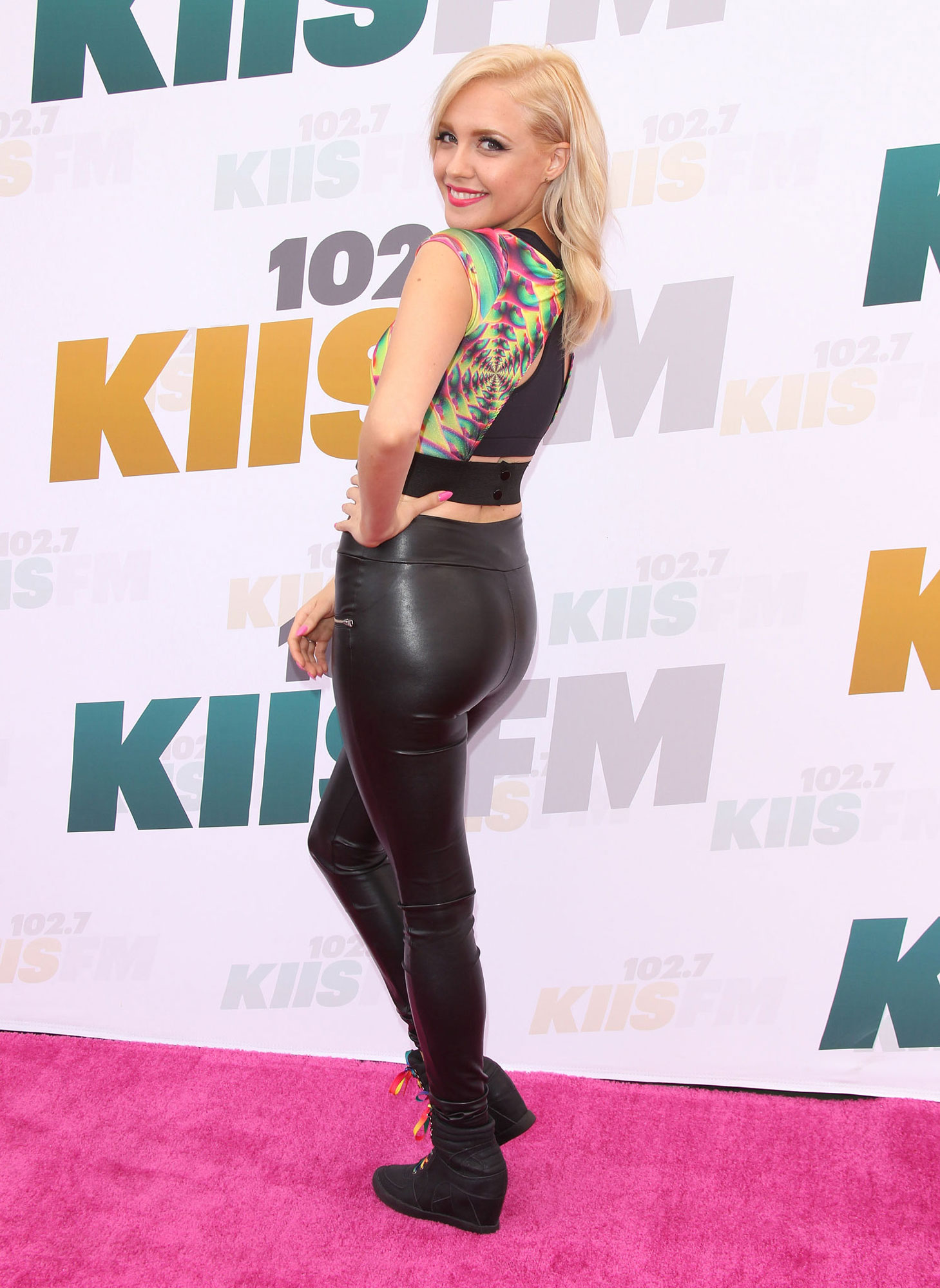 Eden xo arrives at 102.7 KIIS FM's Wango Tango