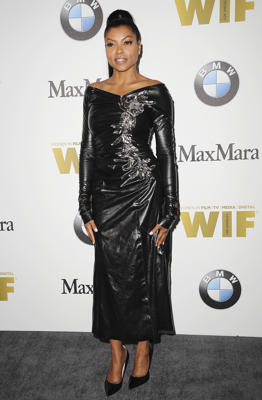Taraji P Henson attends Women In Film 2016 Crystal + Lucy Awards