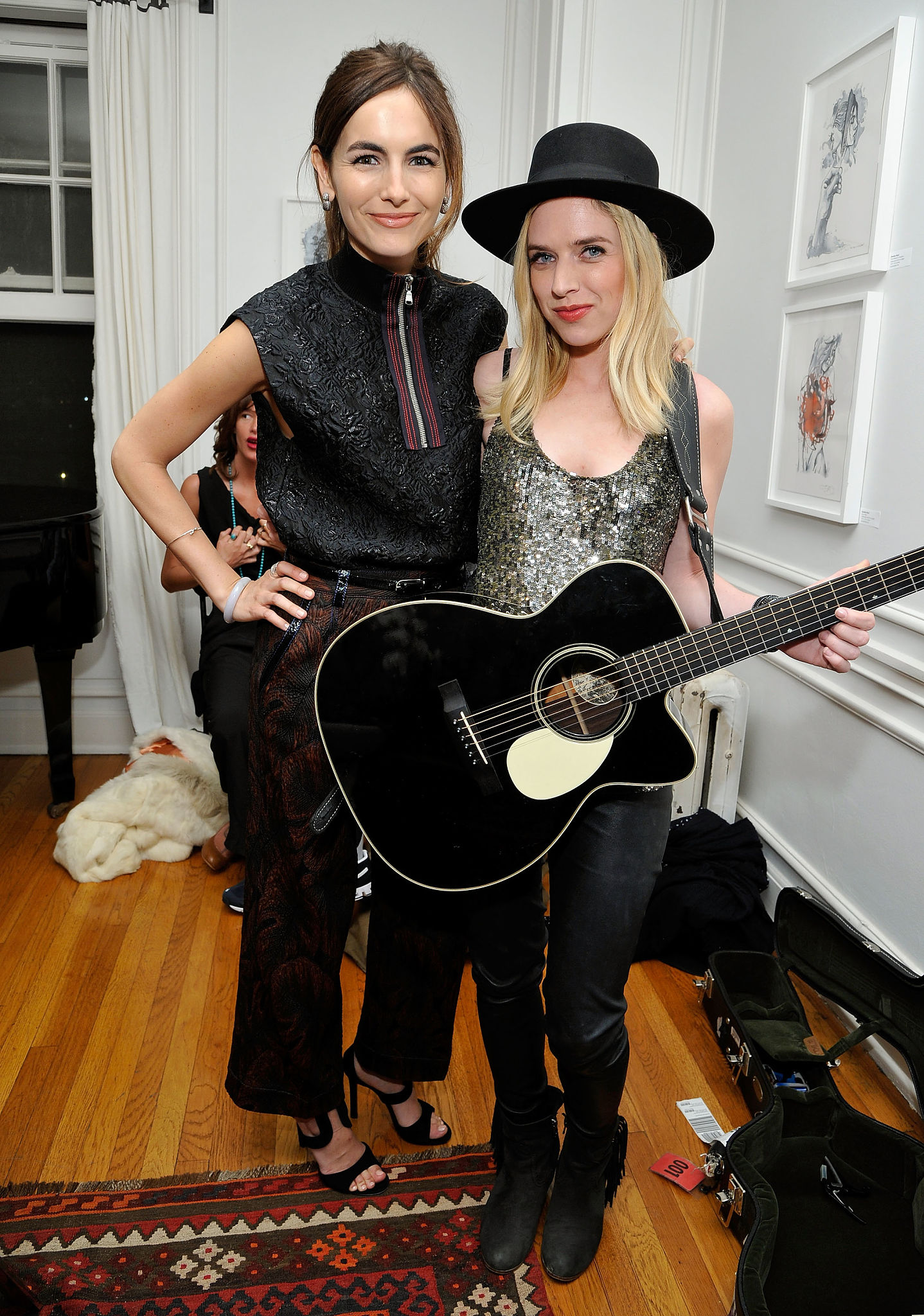 ZZ Ward attends presentation of Looking at Stars