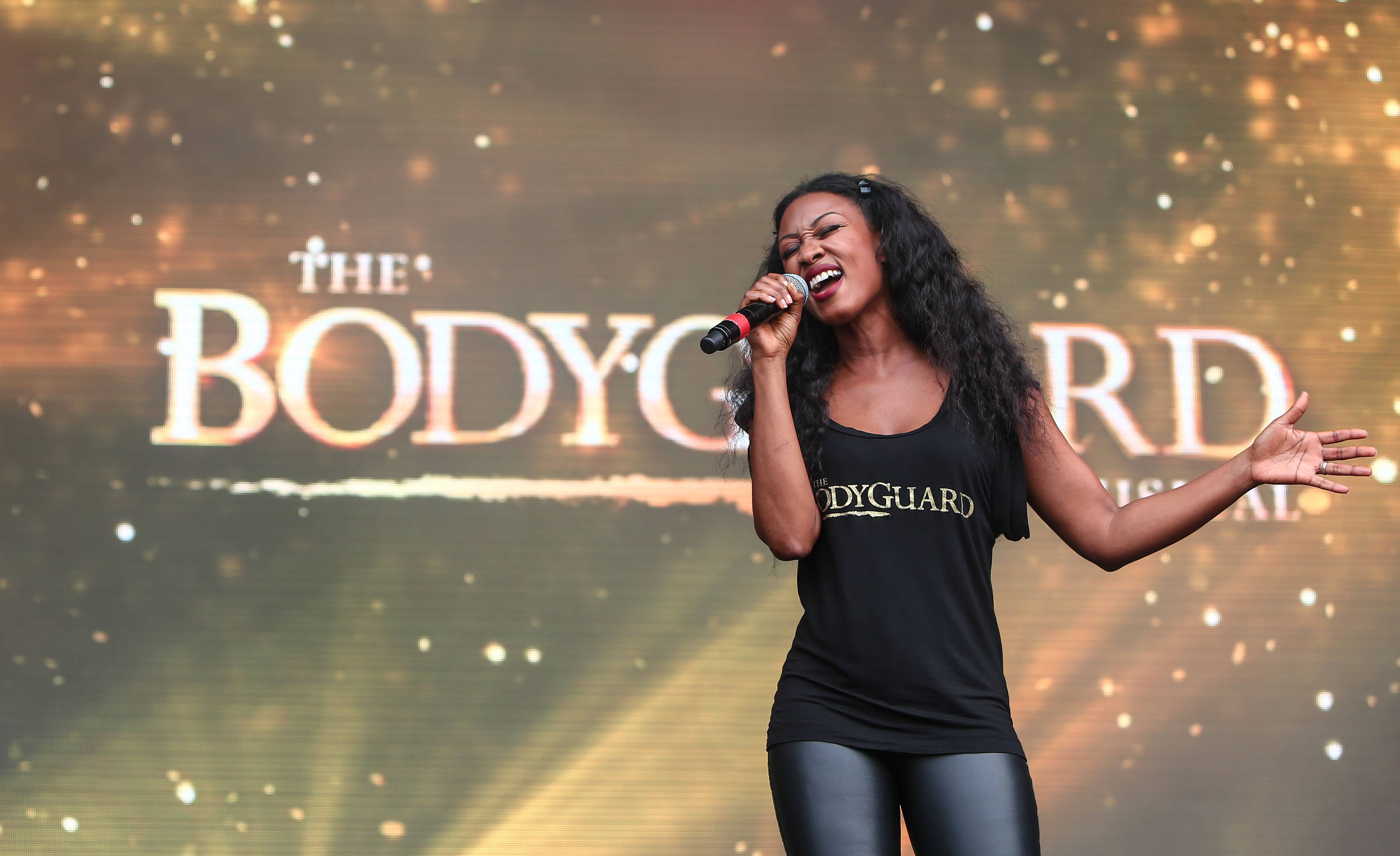 Beverley Knight performs at West End Live