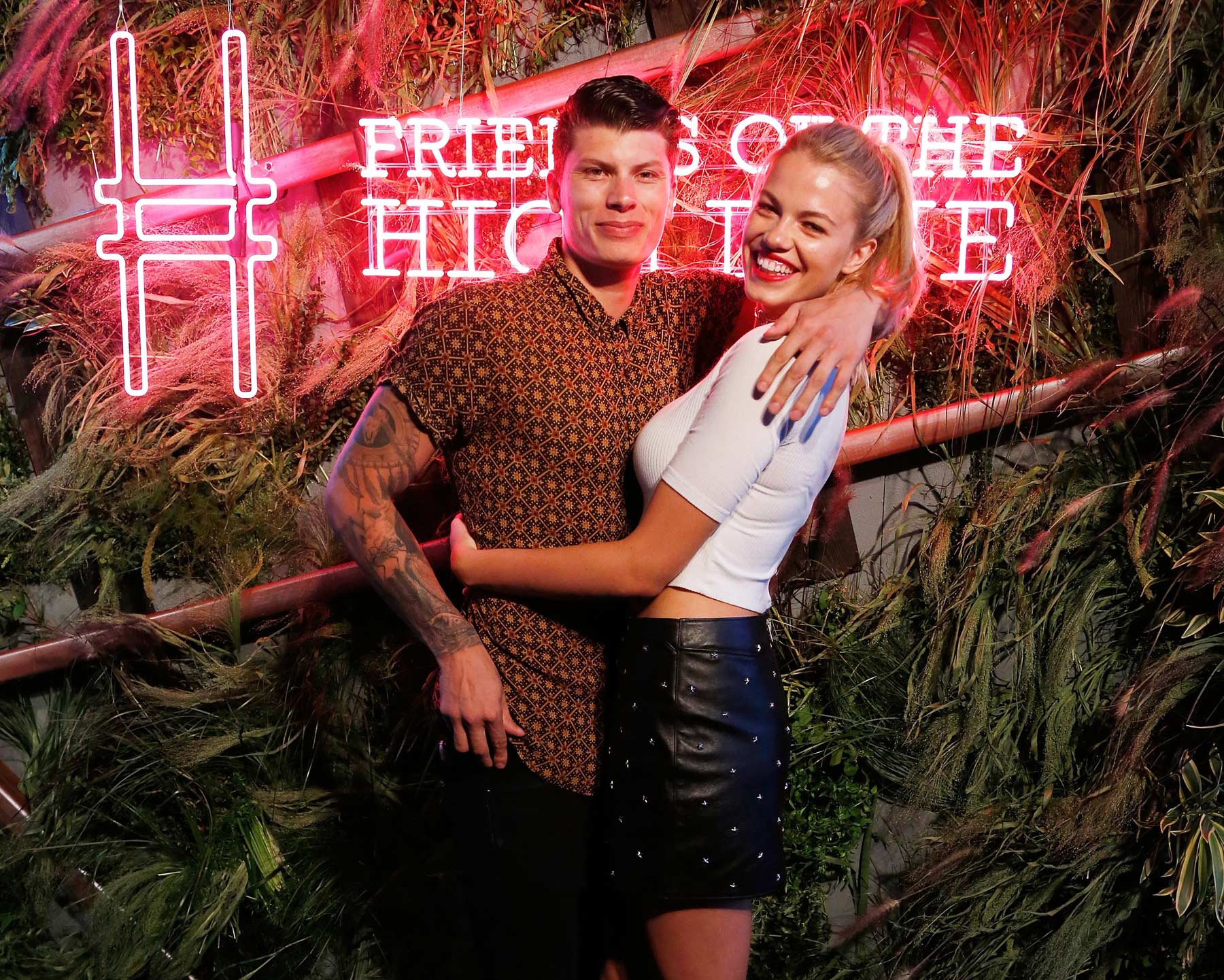 Hailey Clauson attends the 2016 Coach '#Friends of The High Line' summer party