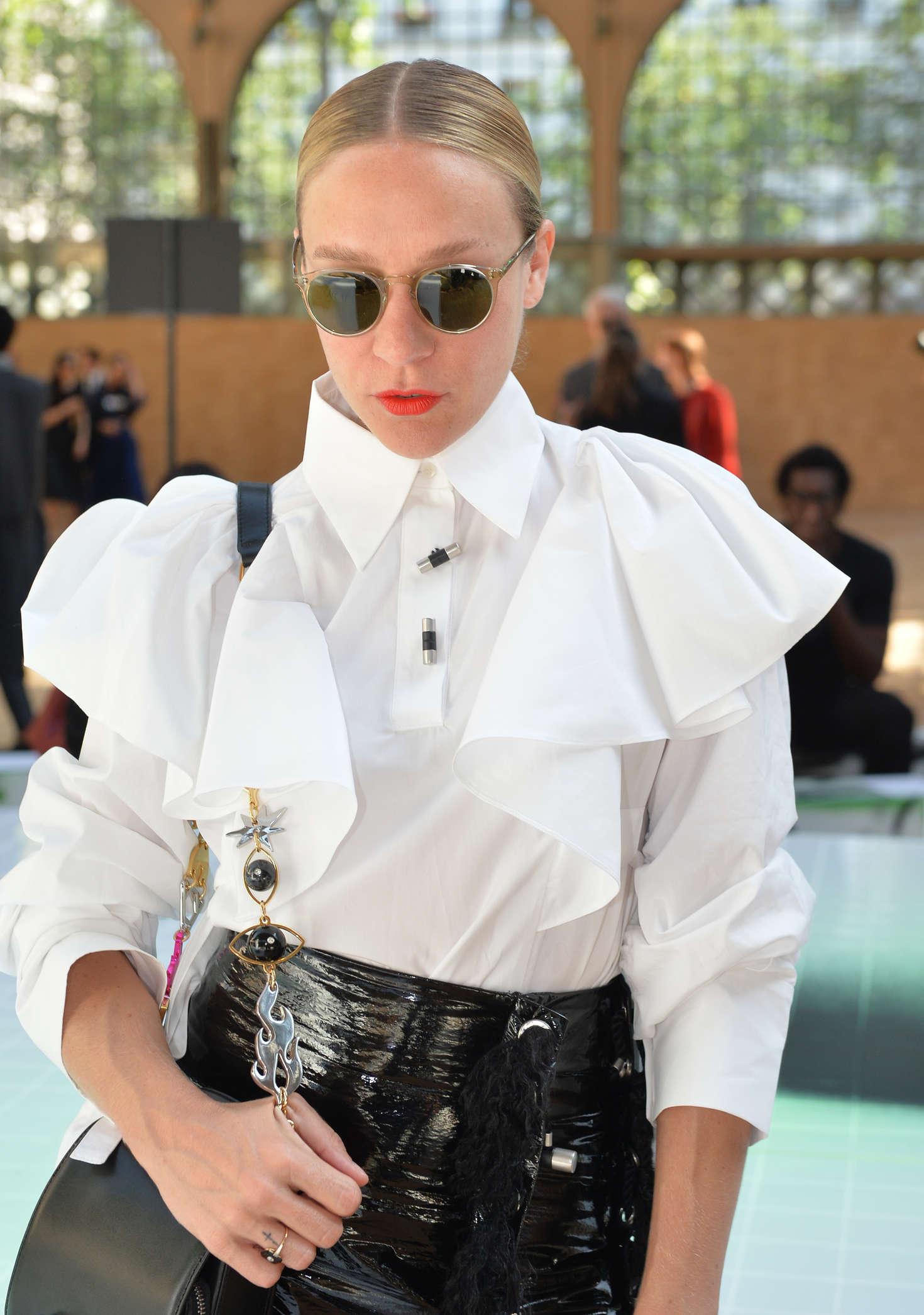 Chloe Sevigny attends Kenzo Fashion Week Men's Wear