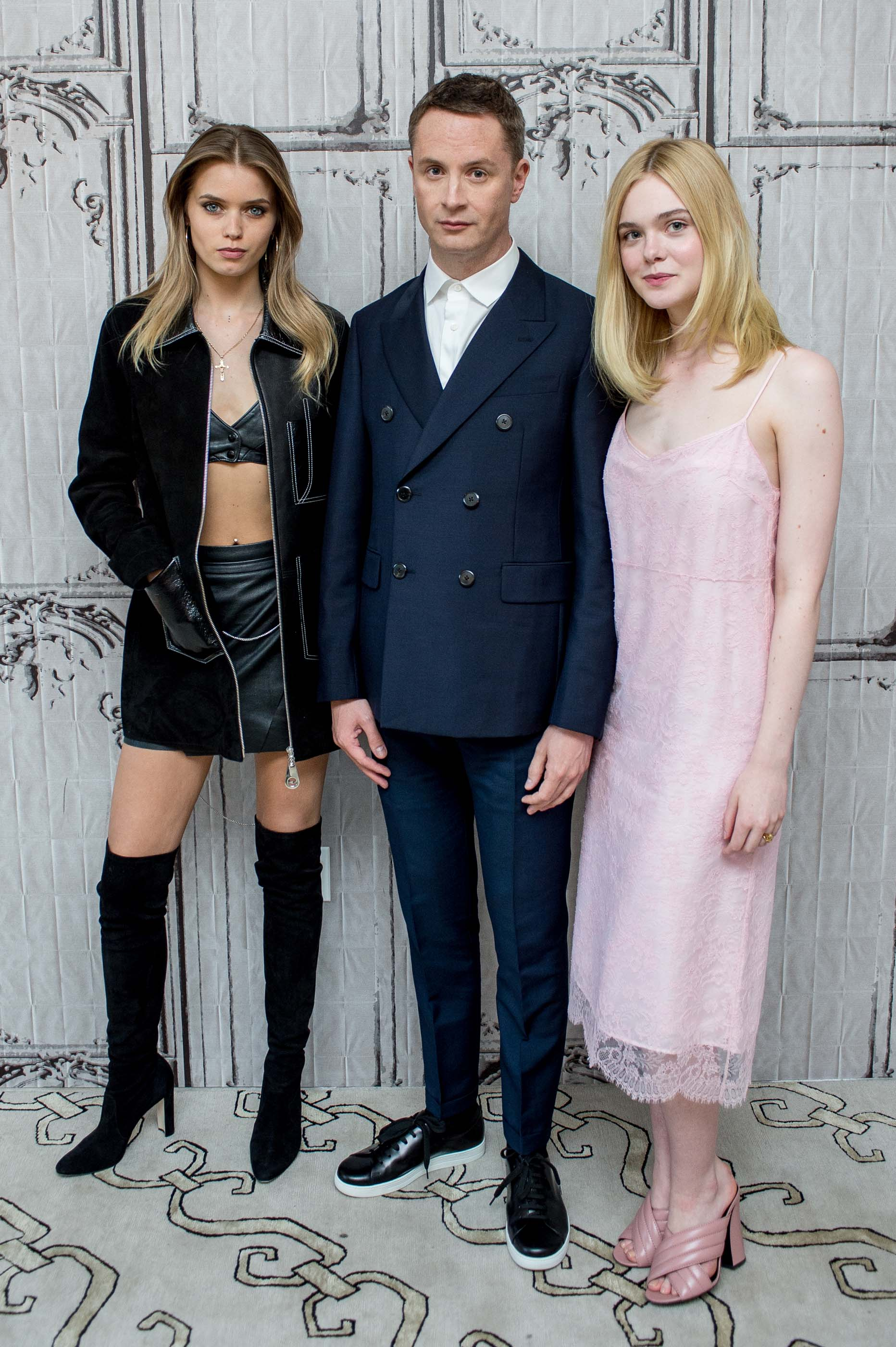 Abbey Lee attends AOL Build to discuss the film The Neon Demon