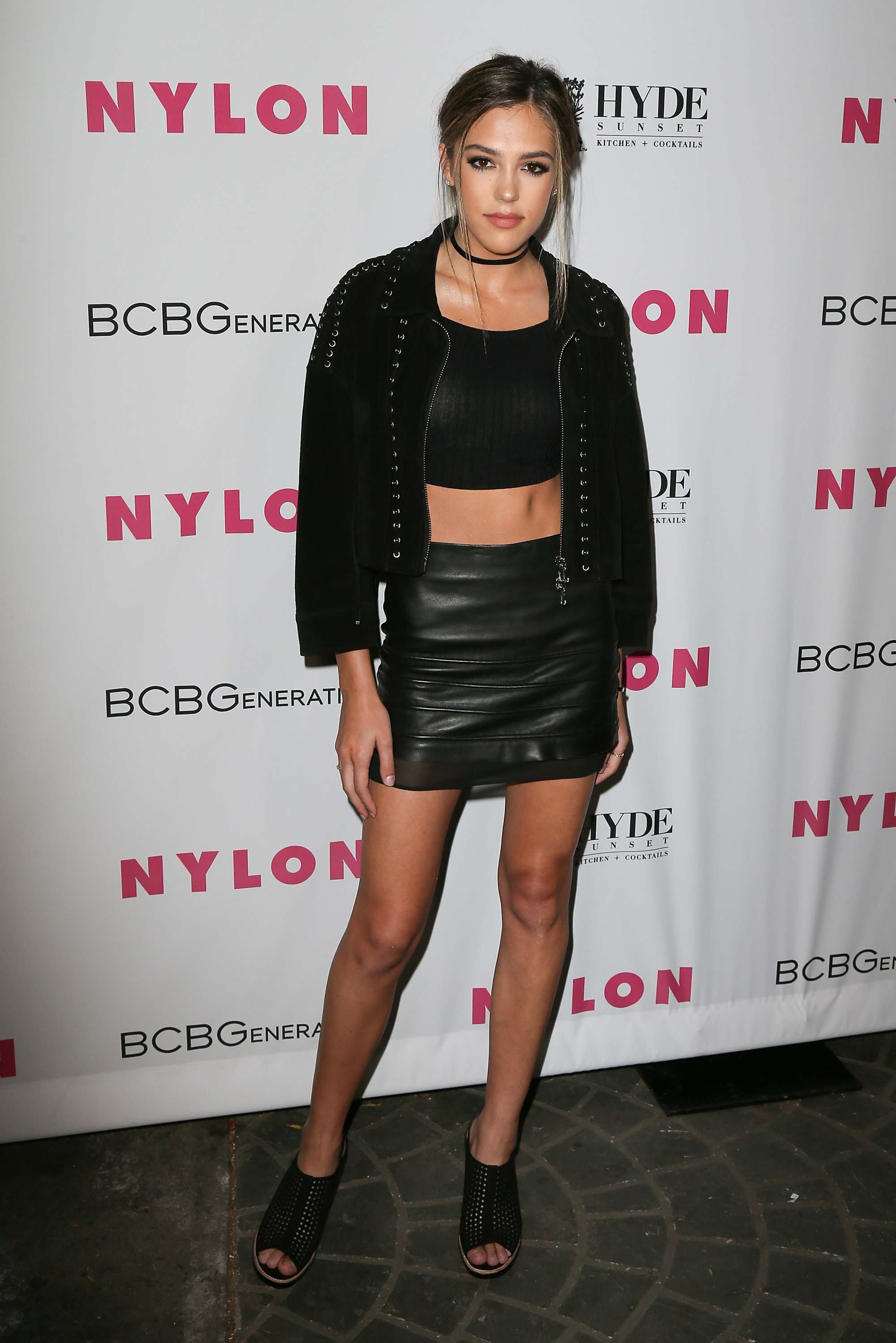 Sistine Rose Stallone attends the NYLON Magazine's annual Young Hollywood May issue Event