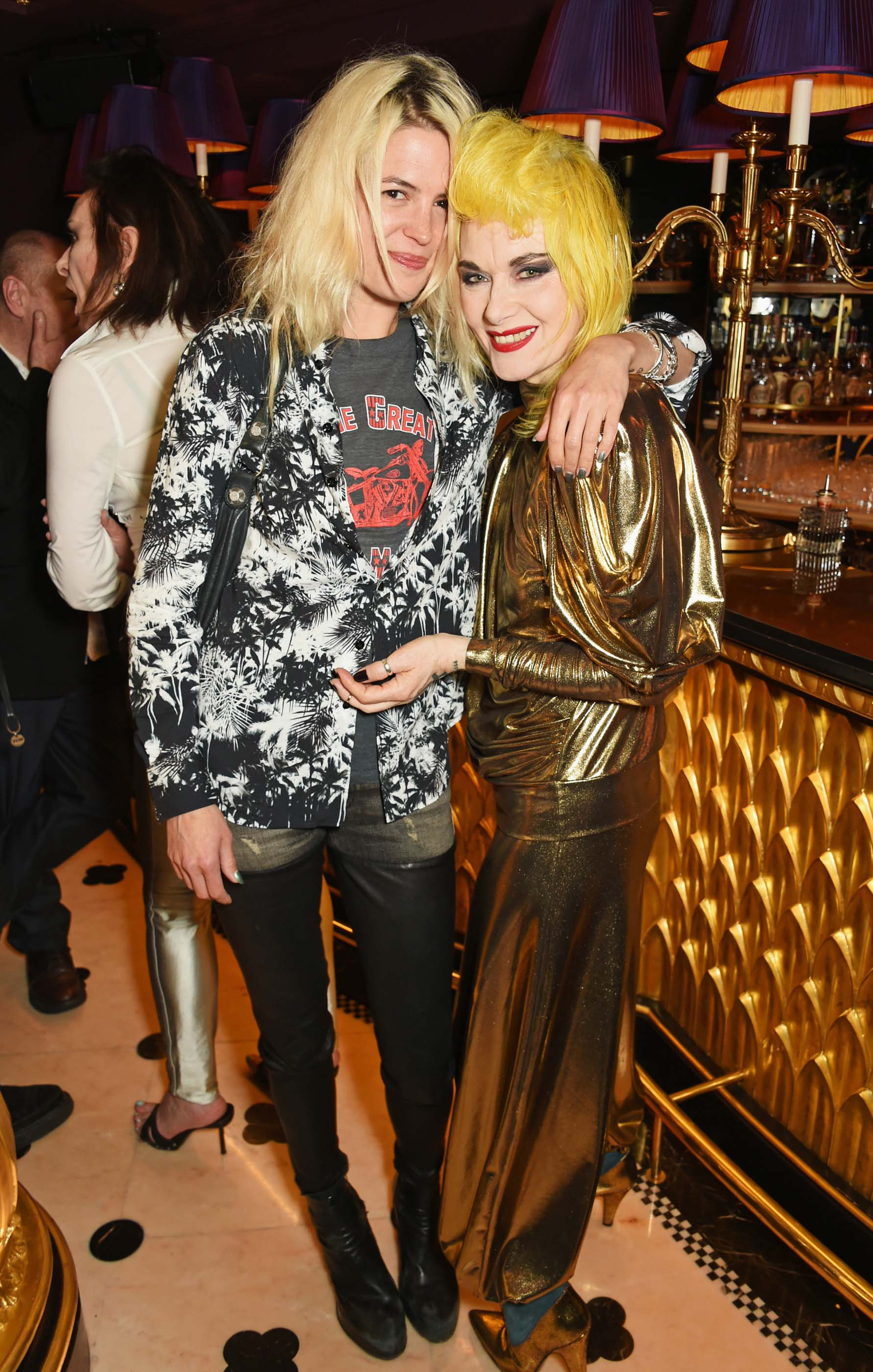Alison Mosshart at a party to celebrate Pam Hogg's honorary doctorate