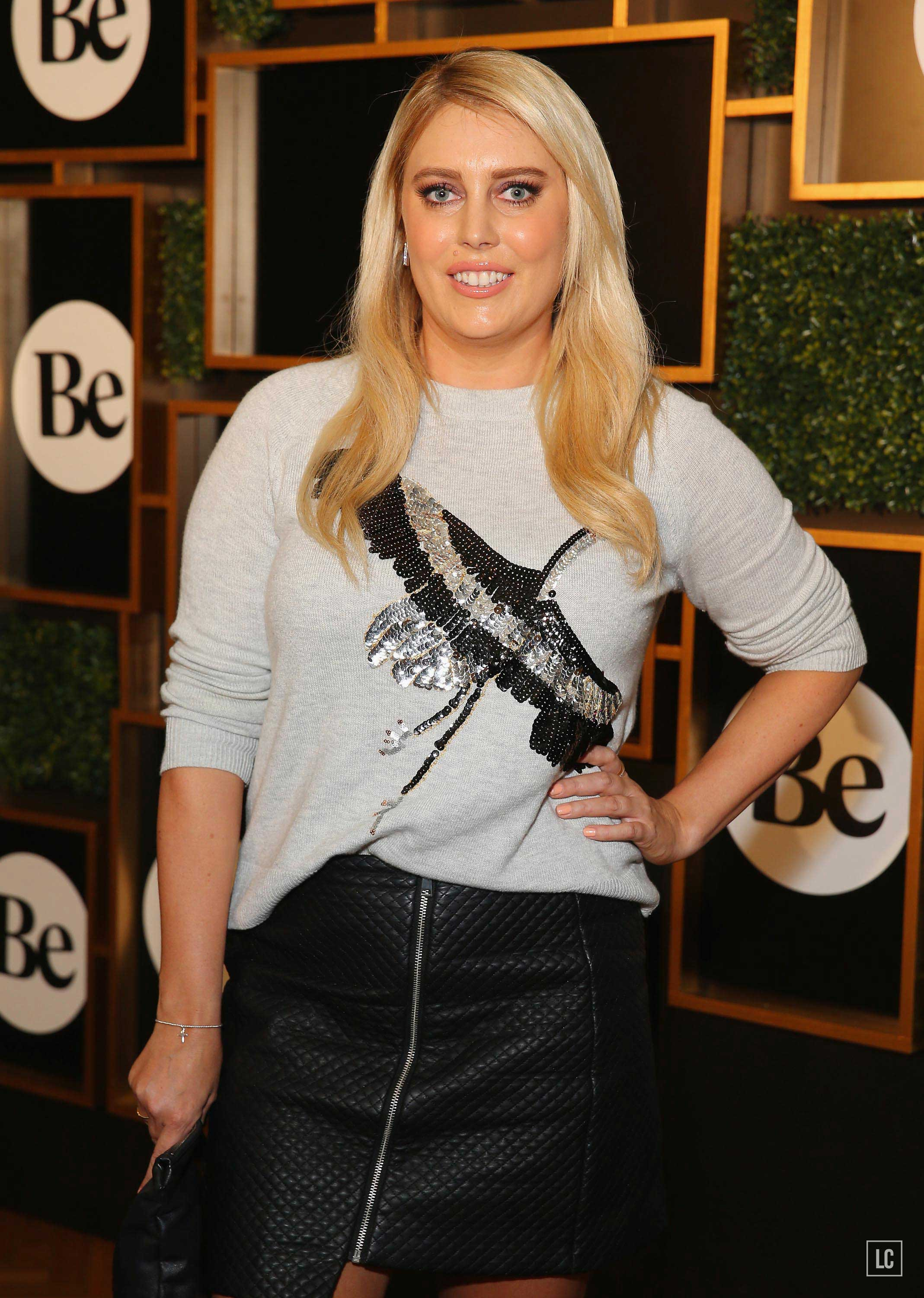 Mel Grieg arrives at the launch of new online lifestyle destination Be