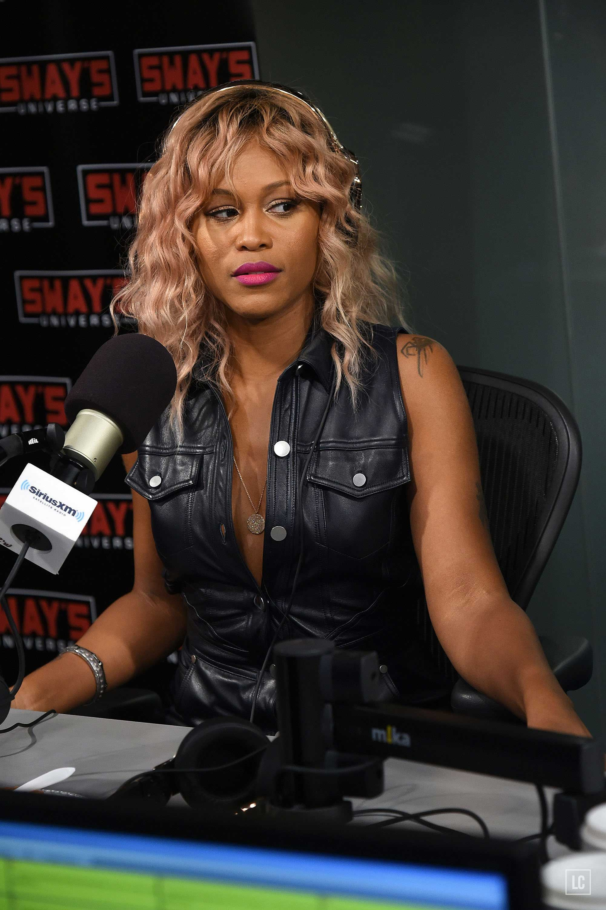 Eve visits at SiriusXM Studios