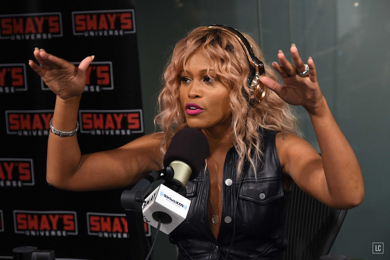 Eve visits at SiriusXM Studios