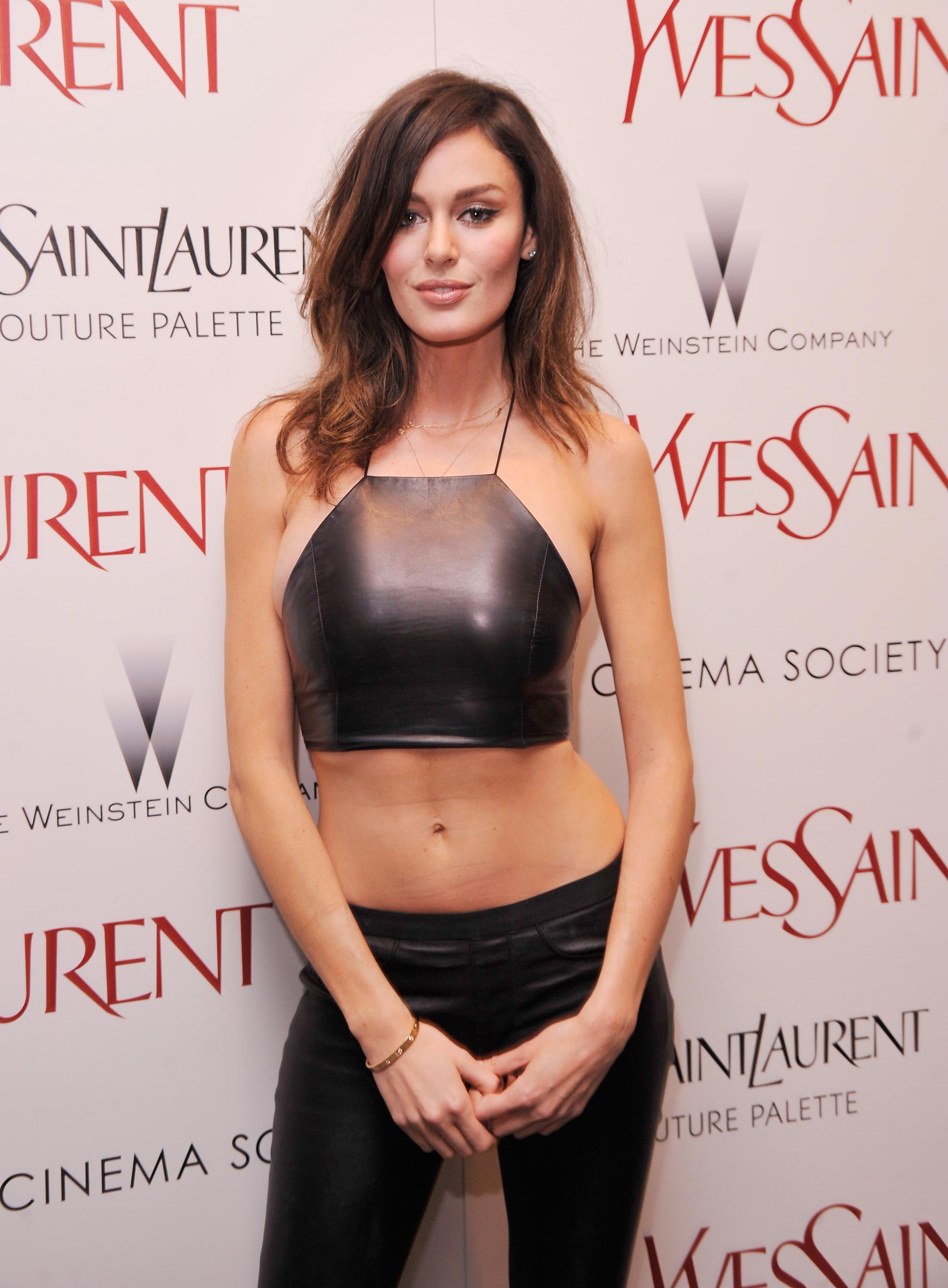 Nicole Trunfio attends the Yves Saint Laurent Couture Palette & The ...