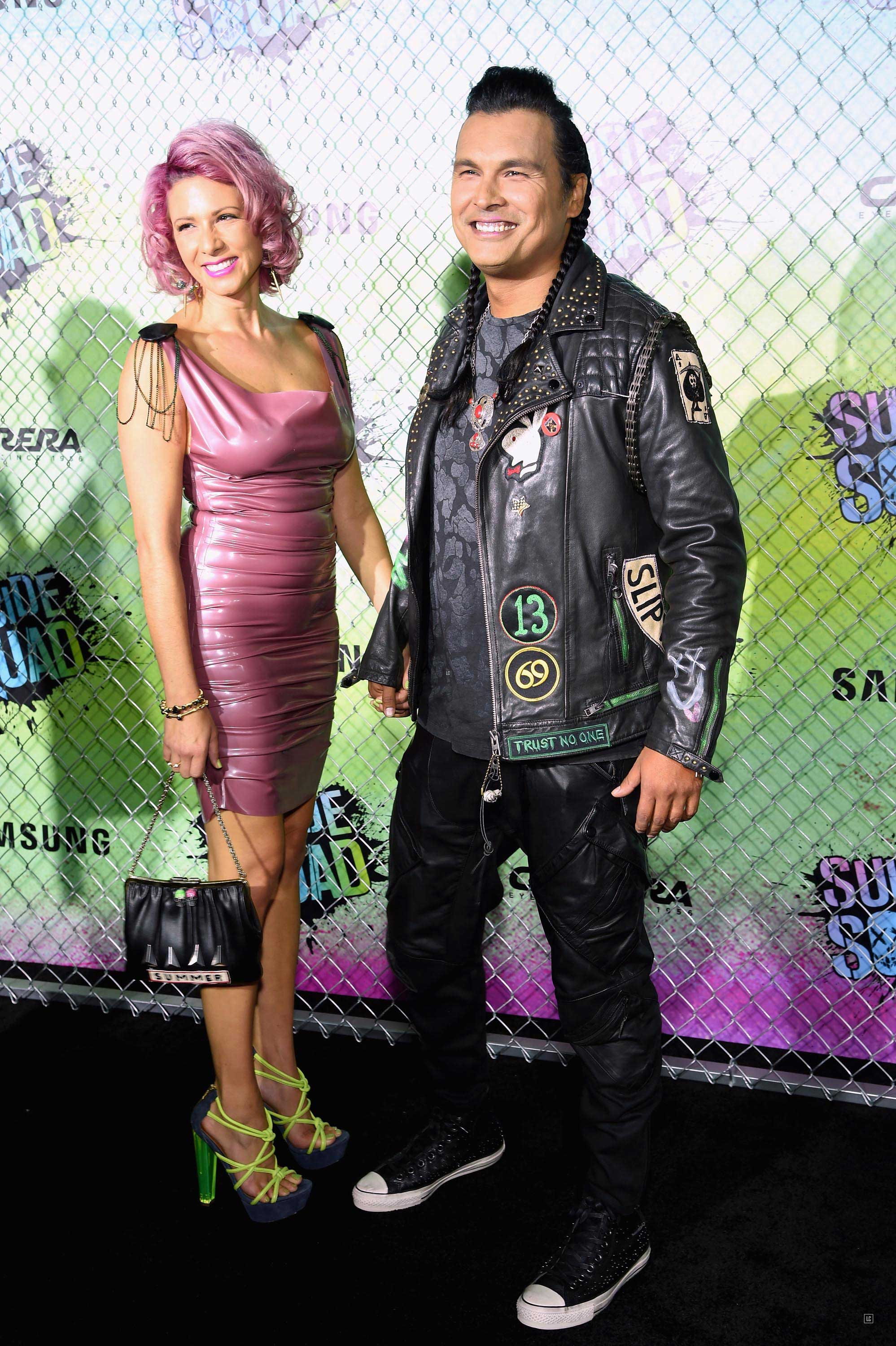Summer Tiger attend the 'Suicide Squad' world premiere