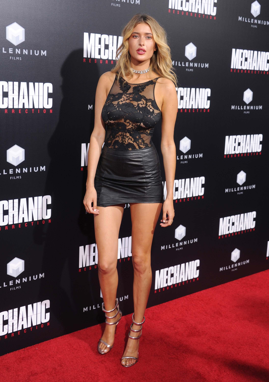 Gemma Vence attends Mechanic Resurrection premiere