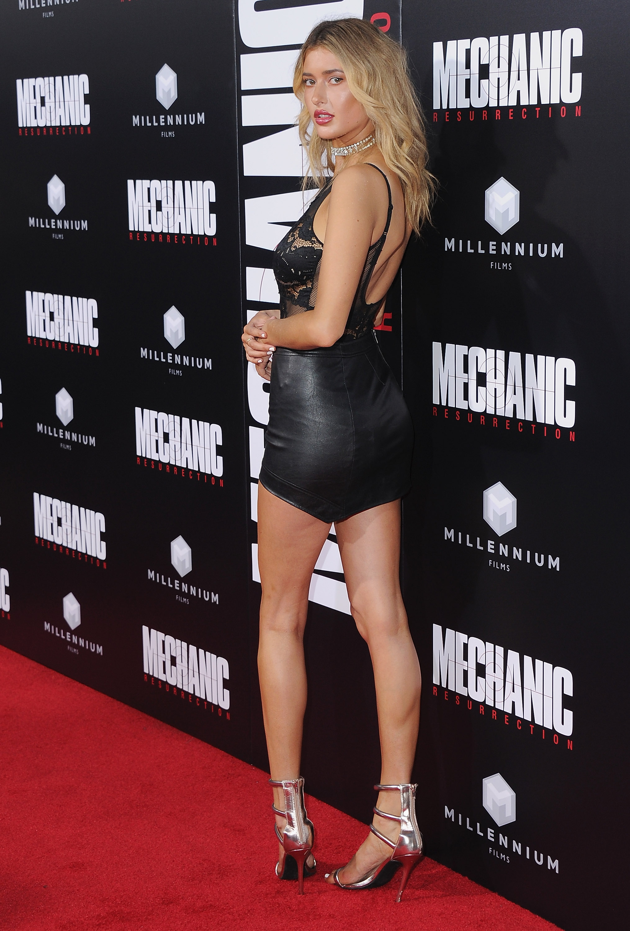 Gemma Vence attends Mechanic Resurrection premiere