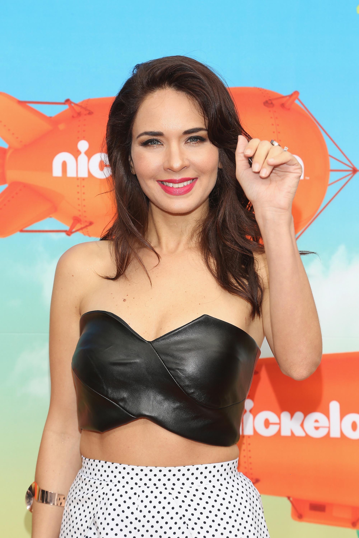 Adriana Louvier attends the Kids Choice Awards Mexico 2016