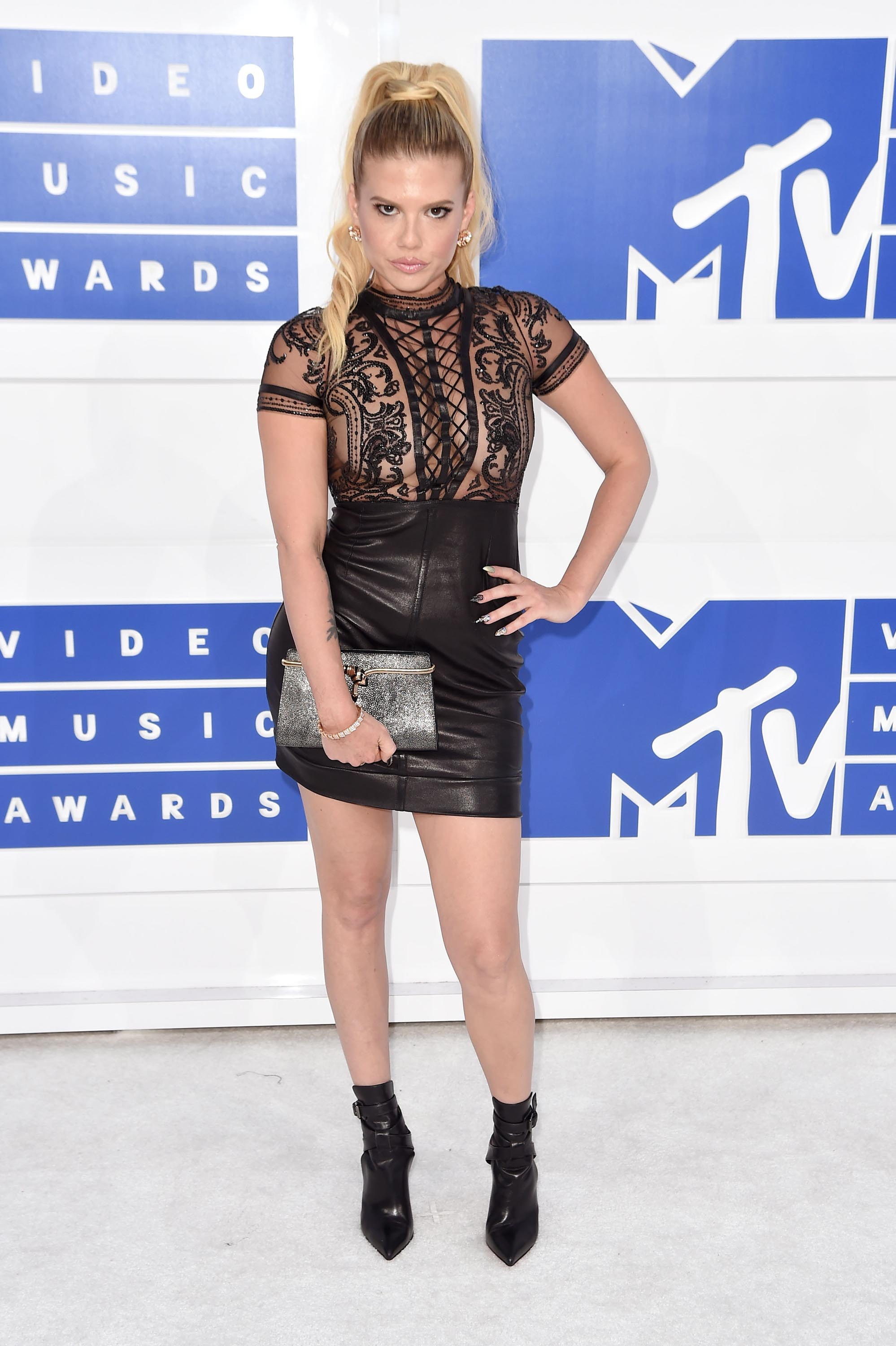 Chanel West Coast Leather Skirt Wwwpicsbudcom