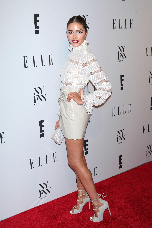 Olivia Culpo attends E! New York Fashion Week Kick Off