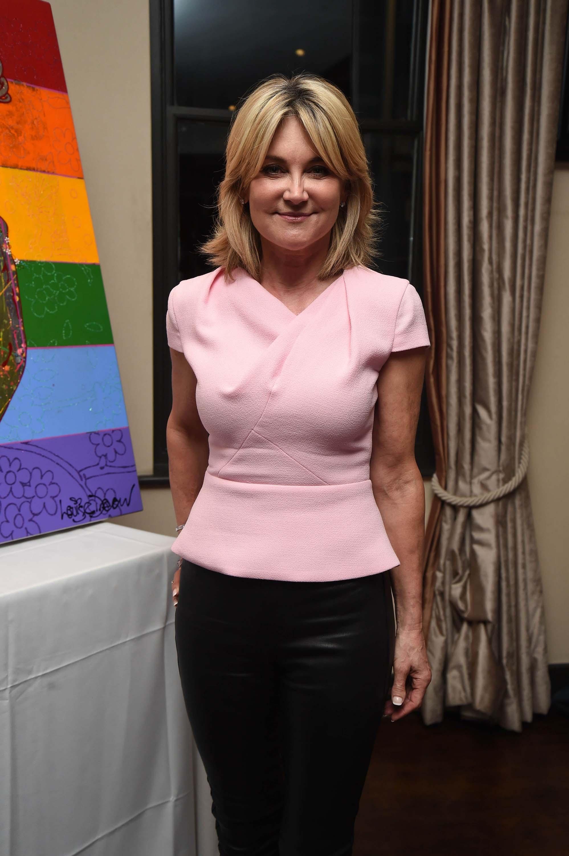 Anthea Turner attends HIV Awareness Dinner
