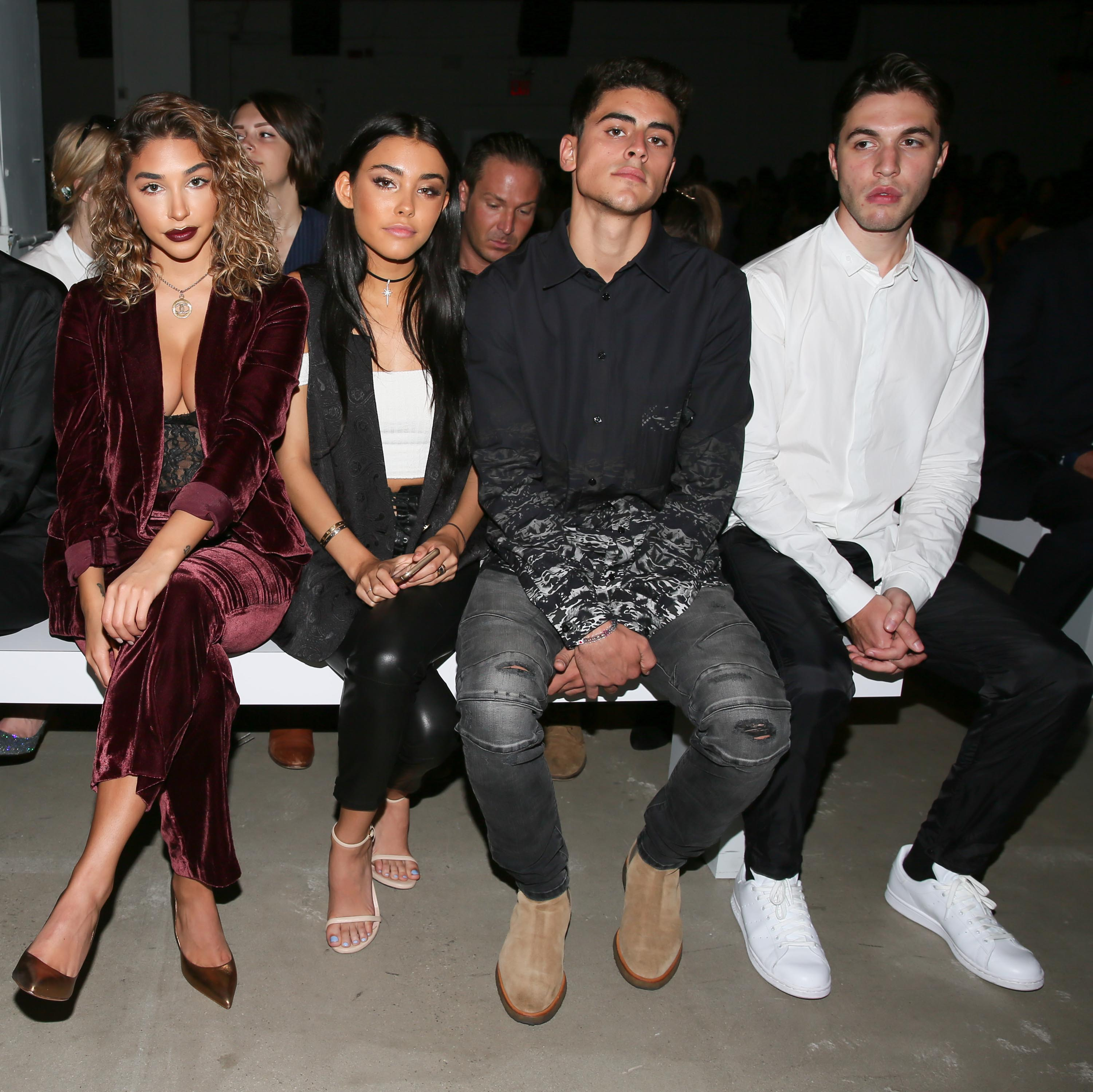 Madison Beer attends the Erin Fetherston Show