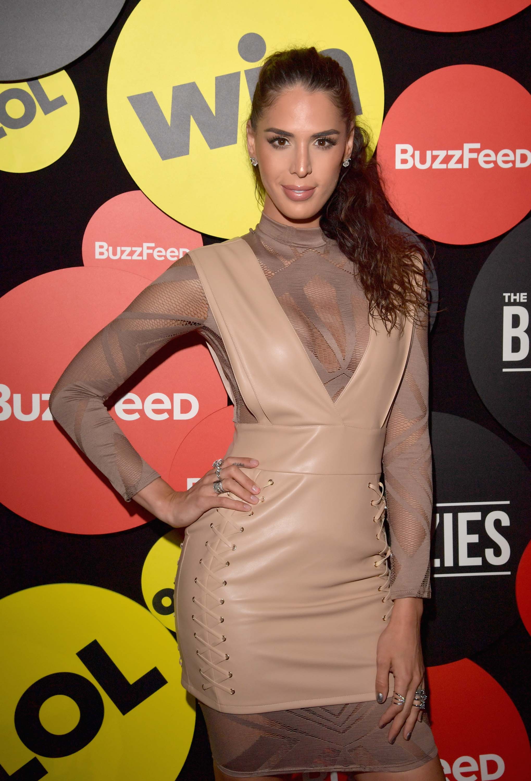 Carmen Carrera attends The Buzzies, BuzzFeed's Pre-Emmy party