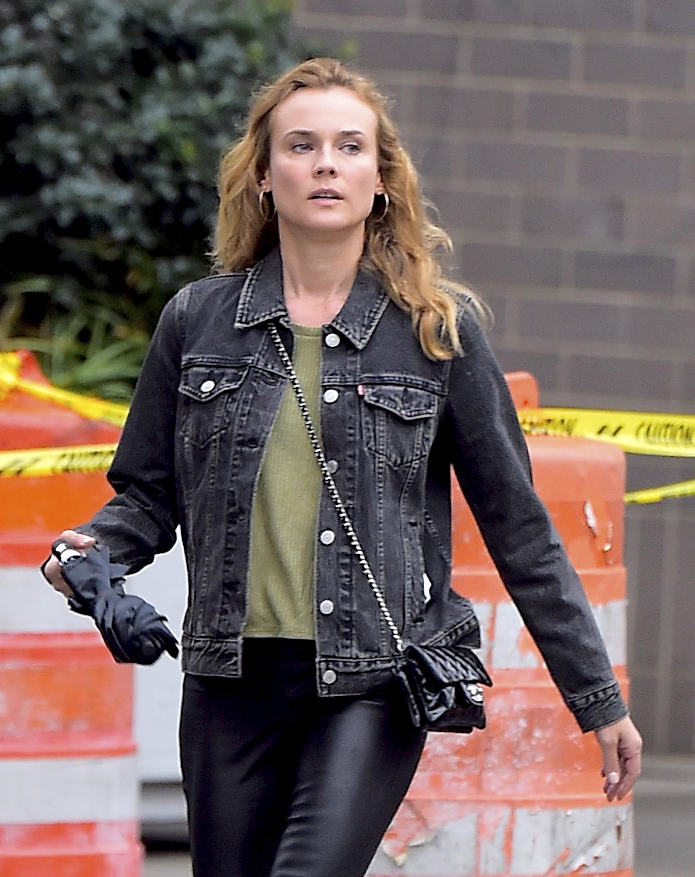 Diane Kruger out in LA