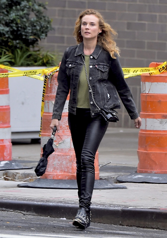 Diane Kruger out in LA