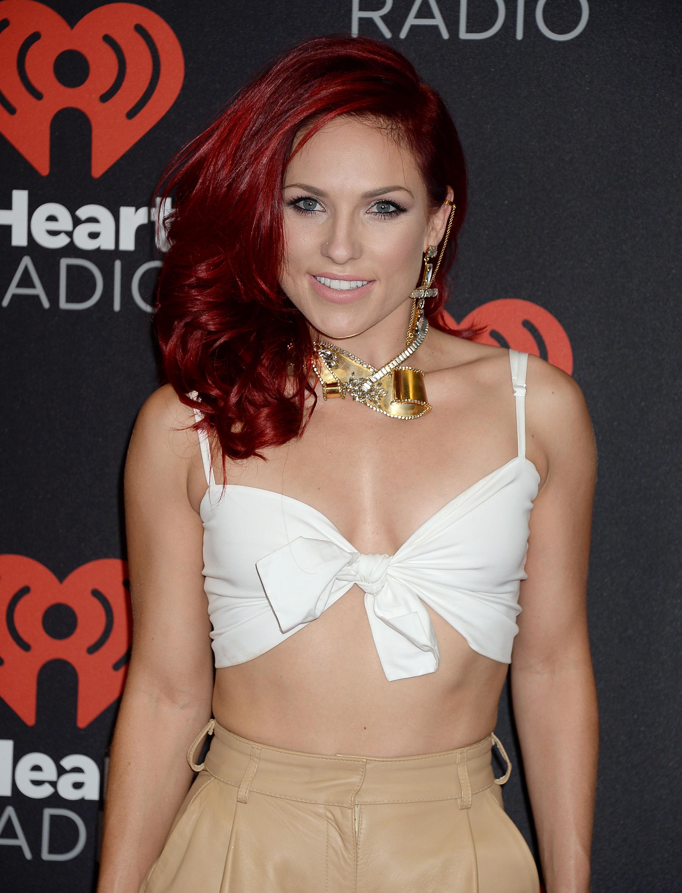 Sharna Burgess attends 2016 iHeartRadio Music Festival