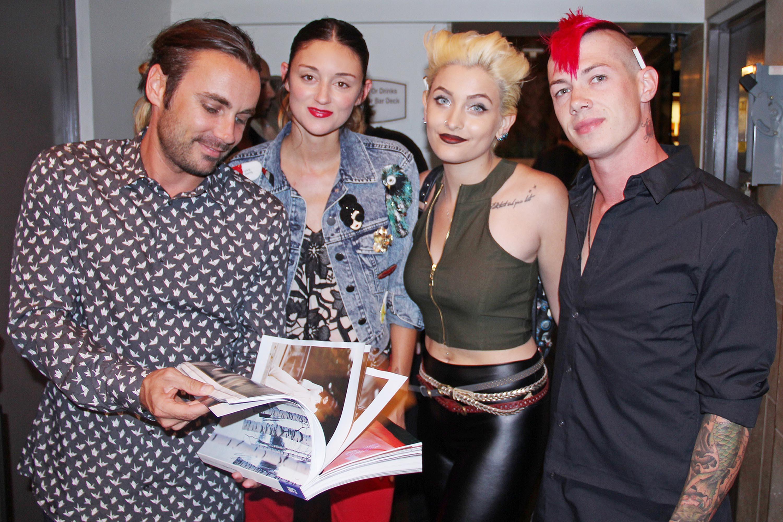 Paris Jackson attends launch of Flaunt Magazine's Oh La La Land