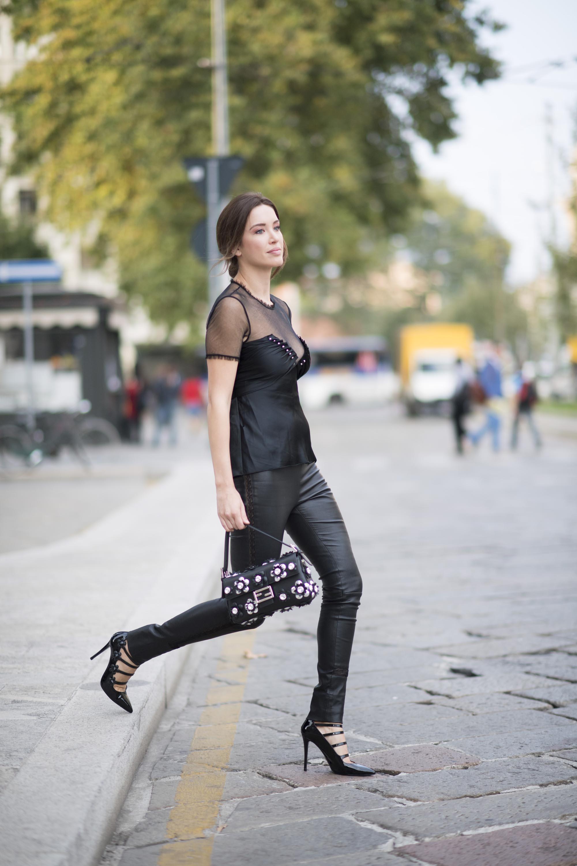 Melissa Bolona at Milan Fashion Week