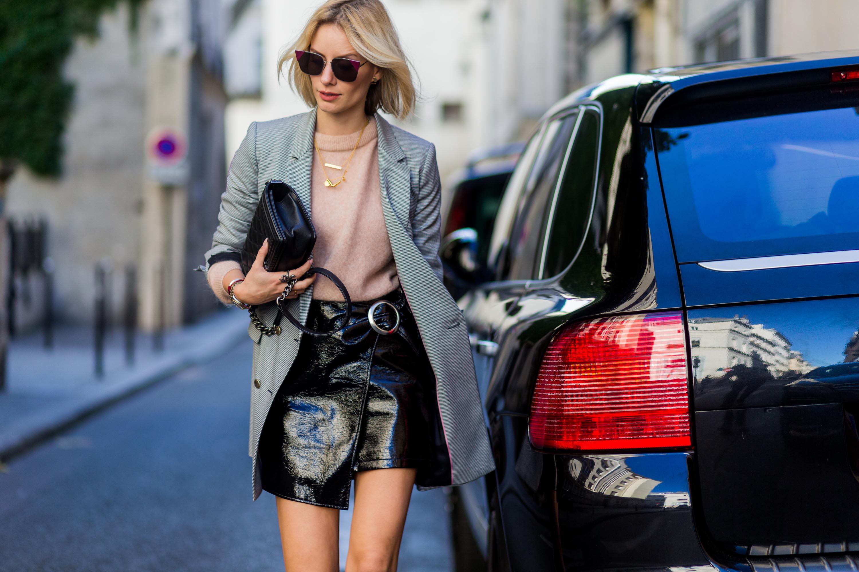 Lisa Hahnbueck Street Style at Paris Fashion Week