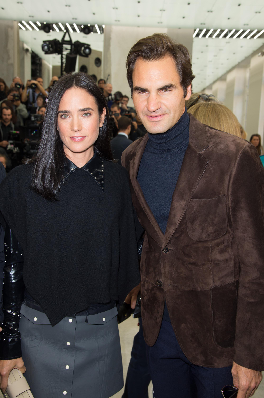 Jennifer Connelly attends the Louis Vuitton show