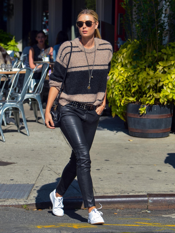 Maria Sharapova is seen in LA
