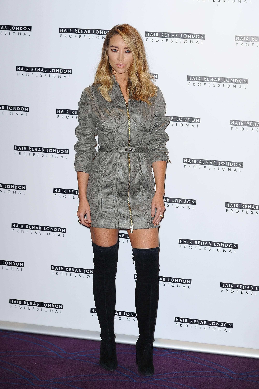 Lauren Pope Photocall for the Hair Rehab London line