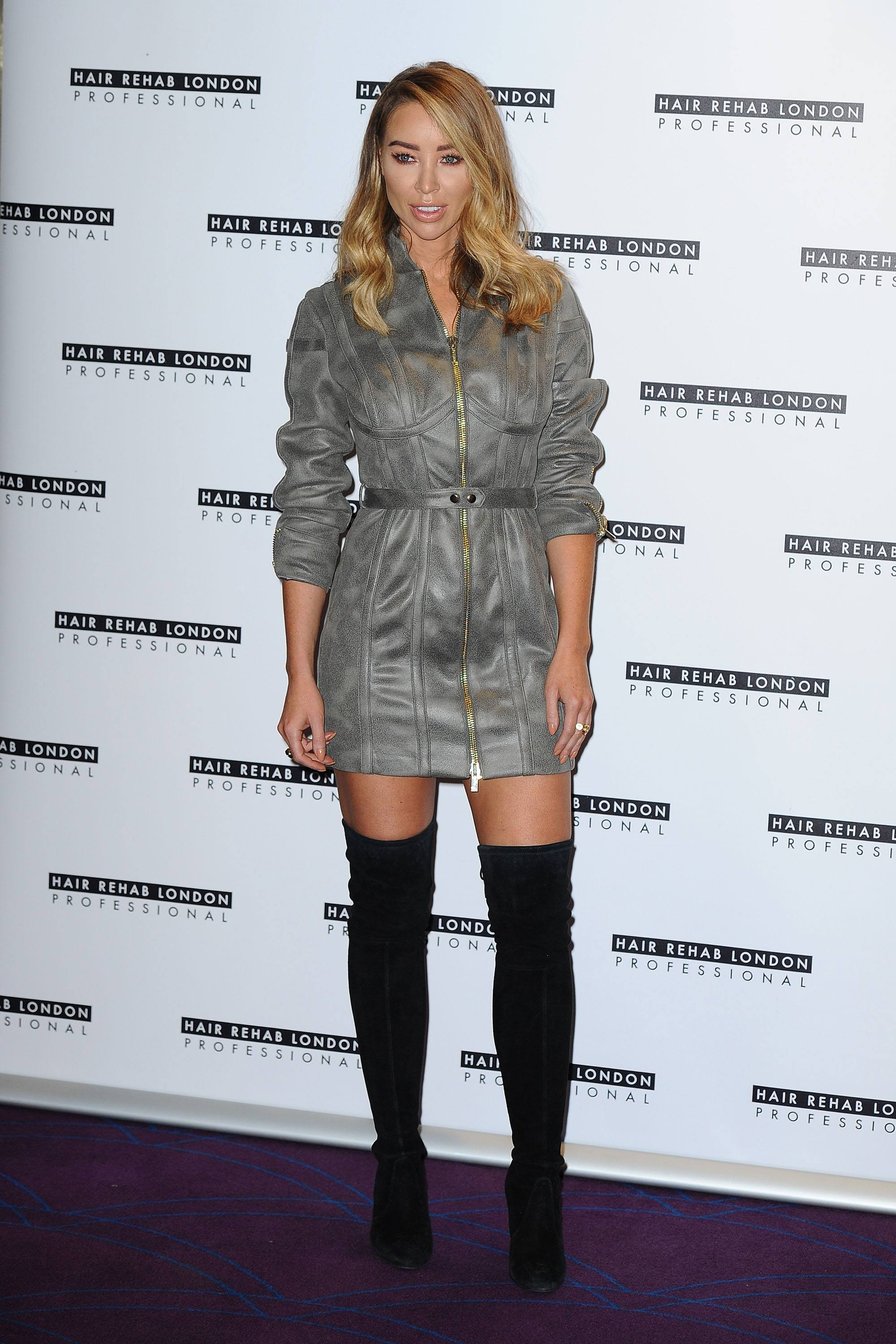 Lauren Pope Photocall for the Hair Rehab London line