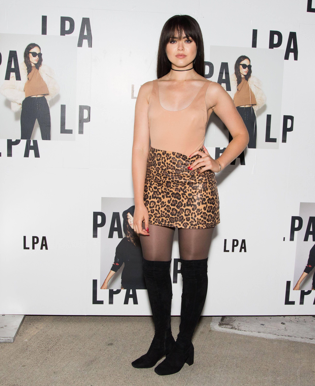 Kristina Bazan attends LPA Launch Party