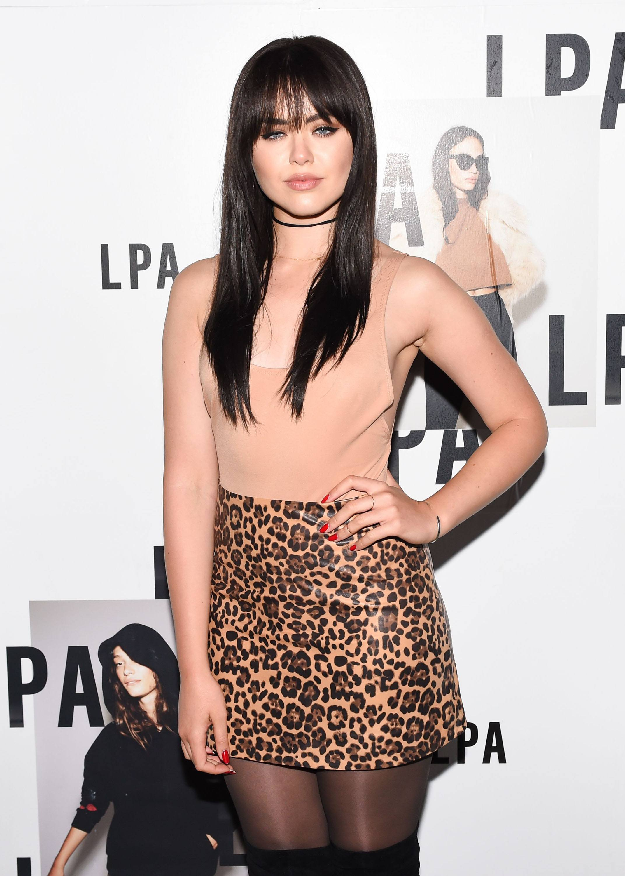 Kristina Bazan attends LPA Launch Party