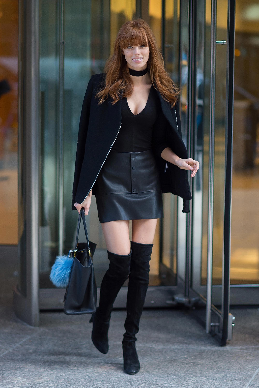 Caroline Silta attends the 2016 Victoria's Secret Fashion Show